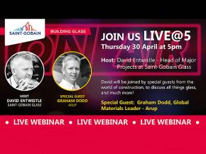 Saint-Gobain Glass Offers Expert-Led Webinars