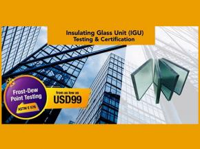 SIRIM QAS International provide IGU testing and certification services