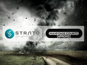 STRATO® is the first and only EVA interlayer certified by Miami-Dade County