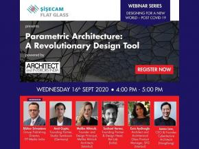 Architect and Interiors India's webinar series on Designing for a New World – Post COVID-19