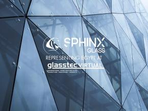 Sphinx Glass was representing Egypt in glasstec VIRTUAL