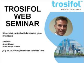 Web seminar: Ultraviolet control with laminated glass interlayers