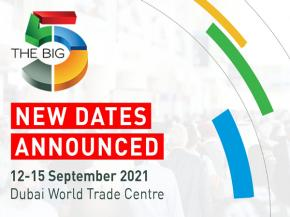 The Big 5 postponed to September 12-15, 2021
