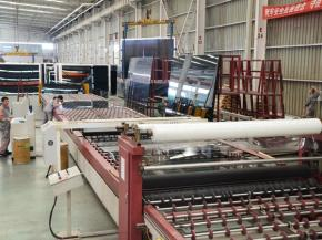 The First Fully Automatic Coating Production Line of NorthGlass Has Been Started