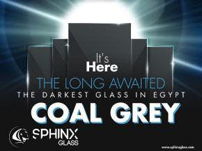 Coal Grey The Darkest Glass In Egypt | Sphinx Glass