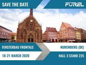 FOREL AT FENSTERBAU FRONTALE 2020