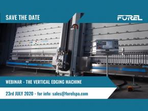 Forel Webinar: a worldwide audience for the vertical edging machine