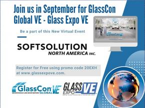 Join SOFTSOLUTION in September for GlassCon Global - Innovation in glass technology
