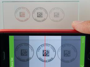 All you need is a scan to uniquely identify even a piece of glass on the construction site, reorder exactly the same piece or retrieve a fire protection certificate.