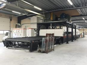 NorthGlass A-series Glass Tempering Furnace installed in Kjellerup, Denmark