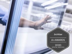 "Insulating glass in all bullet-resistance classes ""A+Awards Special Mention 2020"" for sedak isosecure."