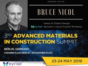 Bruce Nicol's successful talk at Advanced Materials In Construction Summit