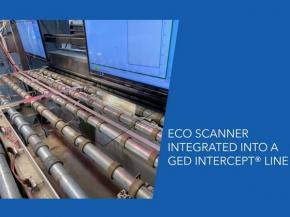 ECO Scanner integration into a GED Intercept® Line