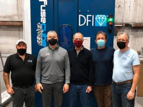 Glass + Metal Craft Automates Glass Coating Process with DFI's FuseCube™ Express