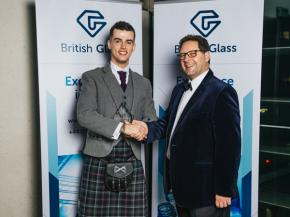 Matthew Demmon of MKD32 (pictured right) has been appointed as the new president of British Glass.