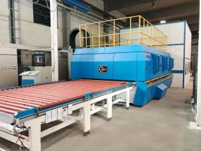 NorthGlass Tempering Furnace after upgradation