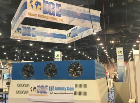 Big Sales and Successful Outing for IGE at GlassBuild America