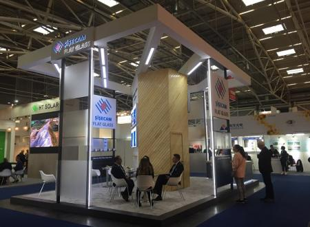 Şişecam Flat Glass Exhibits its Products at Intersolar Europe 2019 Fair
