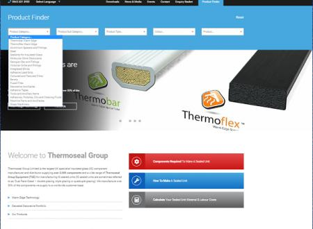 Introducing the NEW Responsive Website from Thermoseal Group