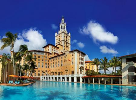 Solarban® 60 glass was chosen for the replacement of 800 guest room windows at the historic Biltmore Hotel in Coral Gables because it complied with contemporary energy codes while maintaining the neutral aesthetic of the original glass.