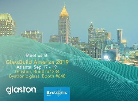 Glaston & Bystronic glass at GlassBuild America 2019