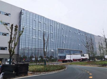 BOE Wuhan Glass Curtain Wall Supplied by NorthGlass