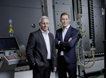 CEO Gottfried Brunbauer and CFO Oliver Pichler