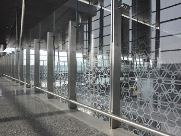 Hamad int l airport doha qatar for Hartung glass industries