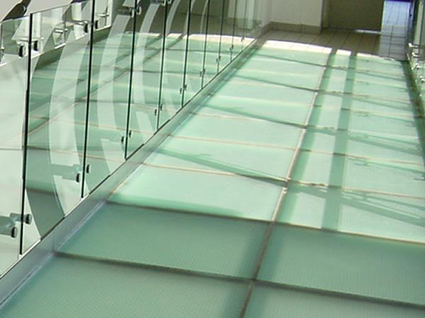 How strong are glass floors?