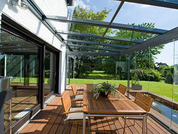 Merveilleux How To Construct A Glass Canopy For Patios