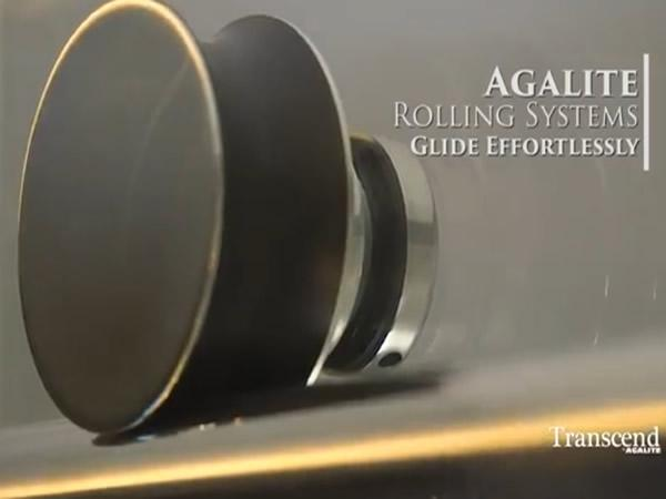 Agalite releases new barn door slider video for Hartung glass industries