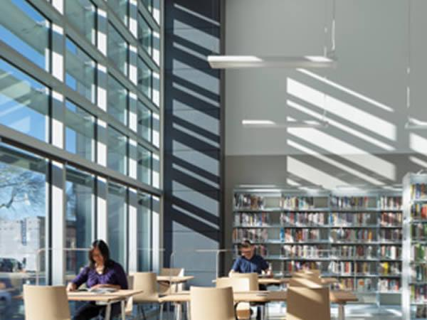 Natural Interior Delight Brings Light to Berkeley West Library