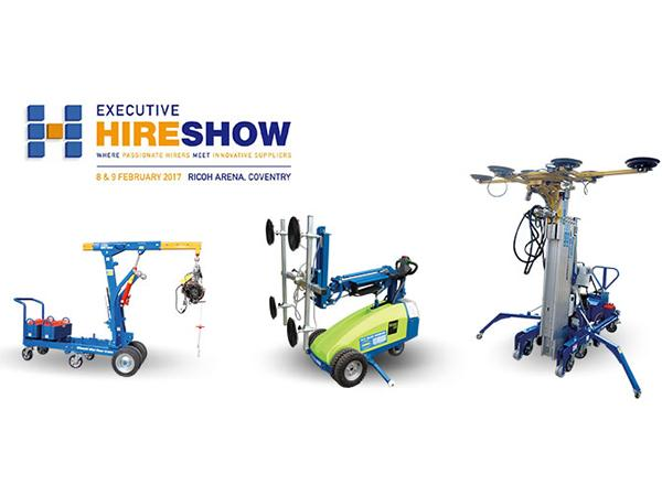 Hird announces new machines for Executive Hire Show