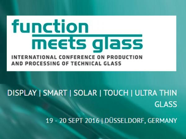 Function meets Glass, 19 – 20 September 2016