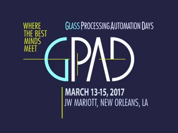 GPAD GPAD 2017 — Glass Processing Automation Days