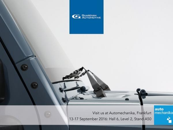 Guardian Automotive highlights benefits for European customers at Automechanika 2016