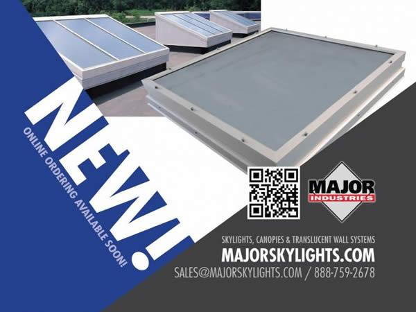 MAJOR ANNOUNCES NEW AUBURN® SKYLIGHT OPTION