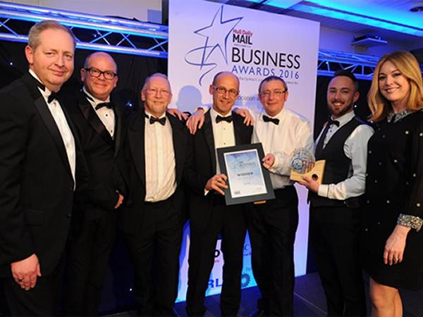 Hird wins Business of the Year Award
