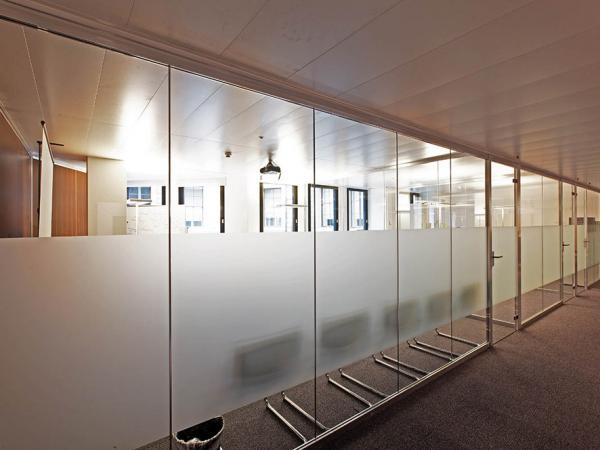 Partition Walls For Office Production Entirely In The Company