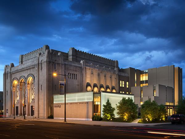 KieranTimberlake won an AIA Philadelphia Gold Medal for its renovation and addition to Congregation Rodeph Shalom, the oldest Ashkenazic congregation in the Western Hemisphere.