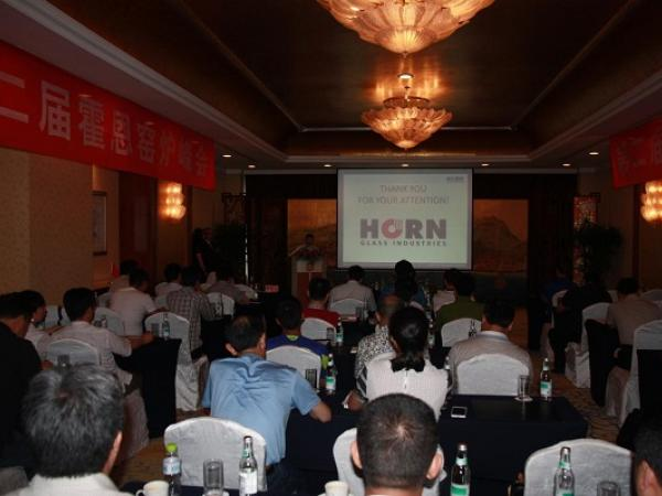 Horn Glass - Technology Seminar in China