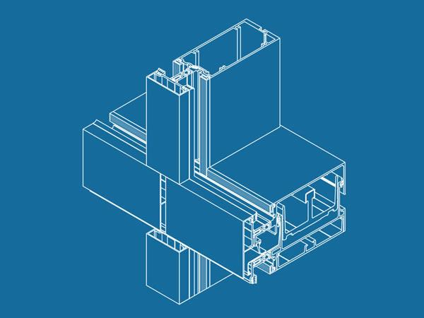 NEW Mullion depth of 6 5/8″ available for the Pre-Glazed ThermaWall SM2600 Split Mullion Curtain Wall!