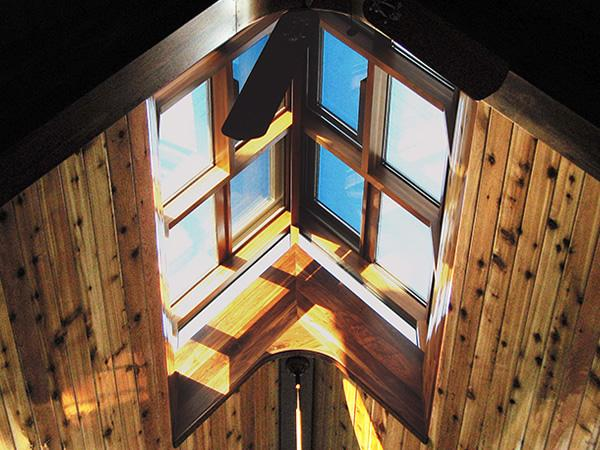 Achieving Performance and Durability in a Wood Interior Skylight