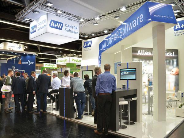 A+W CANTOR presents exciting products at FENSTERBAU FRONTALE