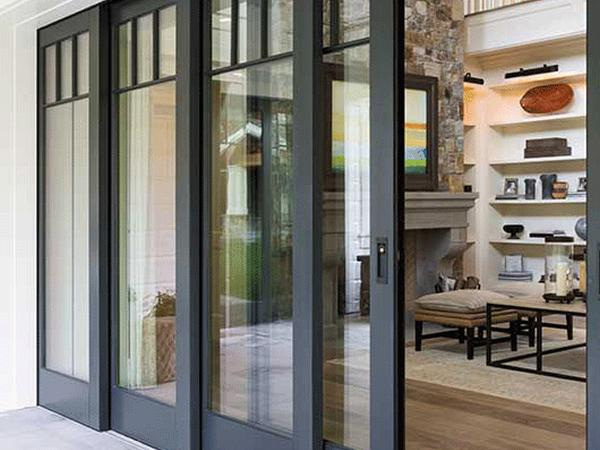 Blur the Line Between Indoors and Outdoors with Multipanel Patio Doors