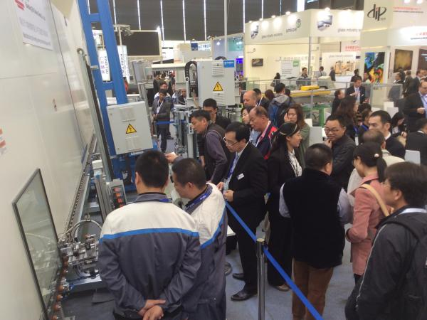 China Glass 2016: Succesful days at the trade fair in Shanghai - Bystronic glass technologies creates major interest