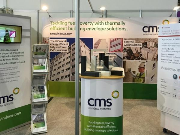 CMS makes some noise with pioneering acoustic window at CIH Housing 2016