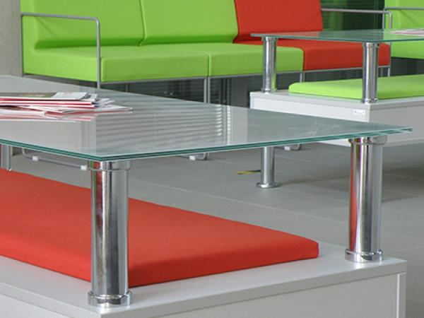 Toughened glass cut to size for table tops   glassonweb.com