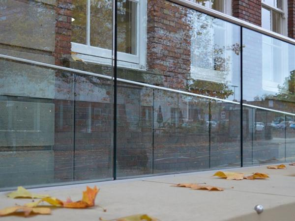 Laidlaw goes top of the class with university balustrade installation