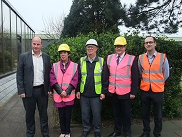 MEP and MP visit Pilkington in St Helens